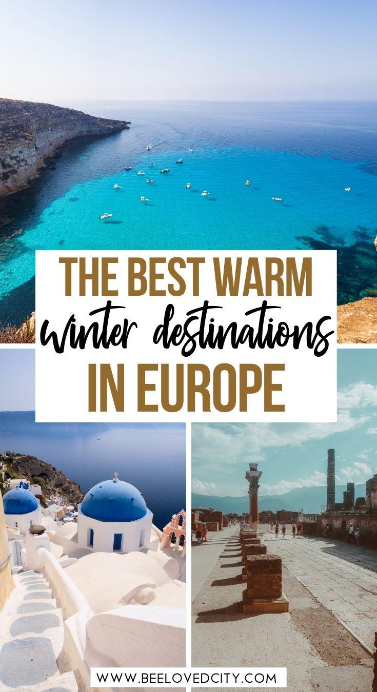 Winter sun destinations in europe