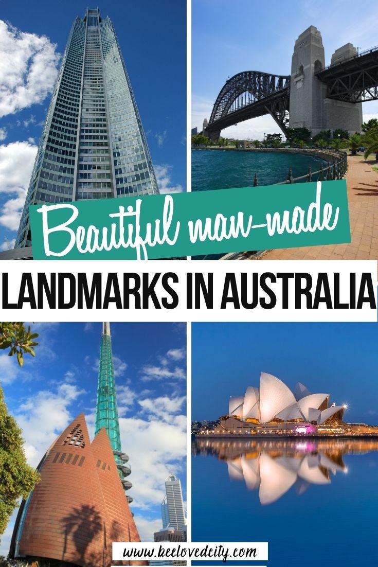 beautiful man made landmarks in australia