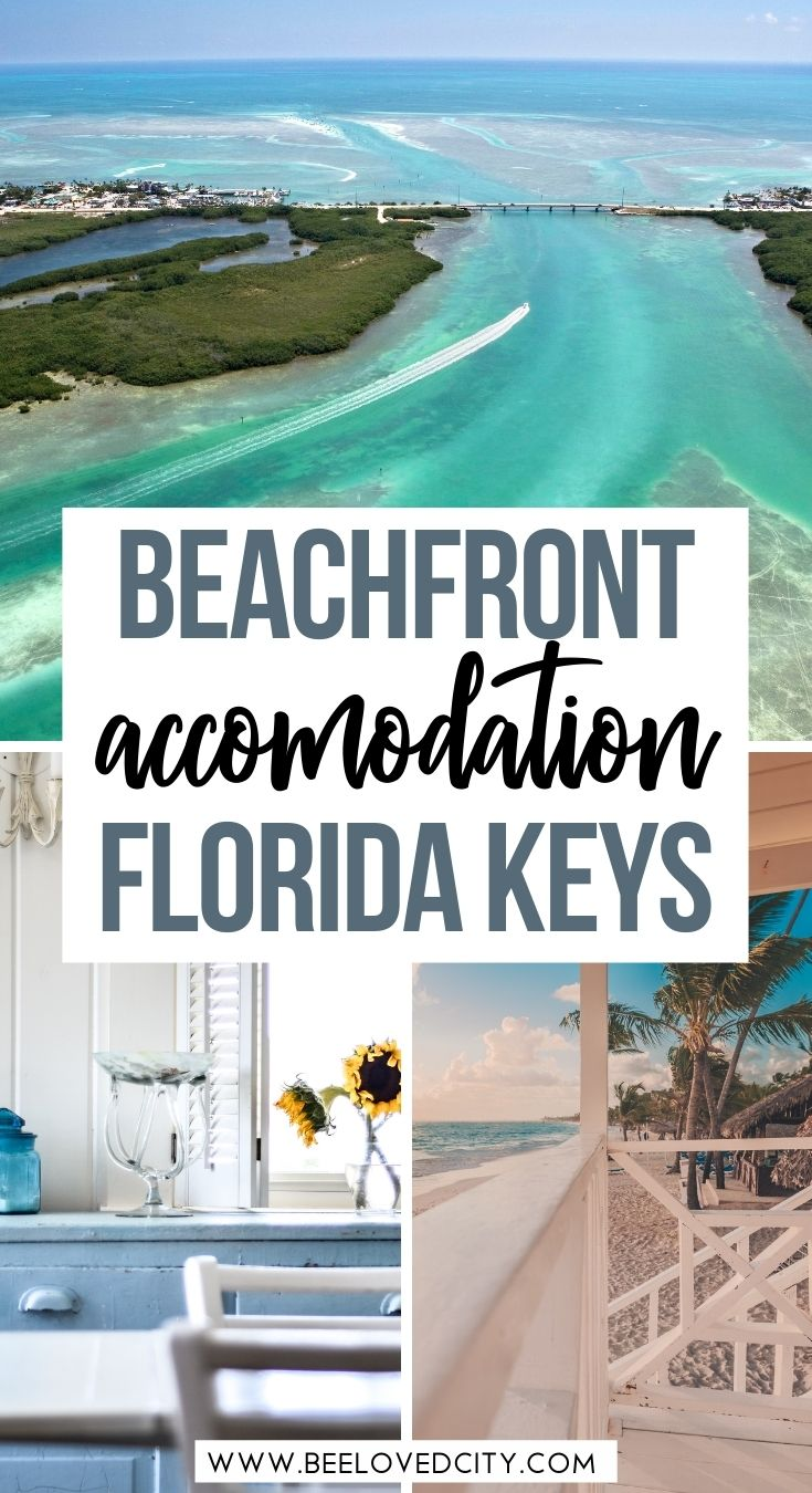 best beachfront rentals in florida keys