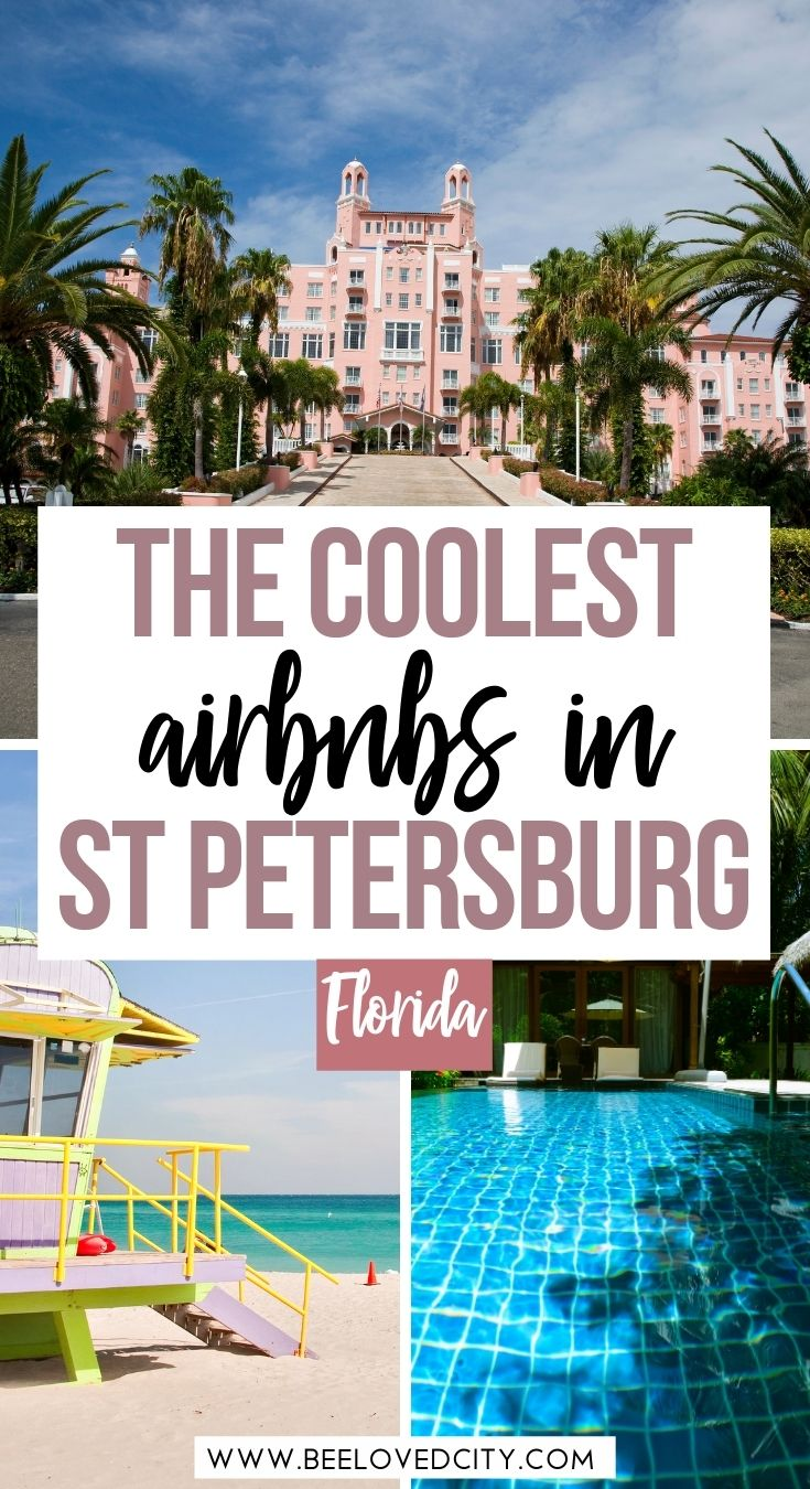 coolest airbnbs in st pete beach florida