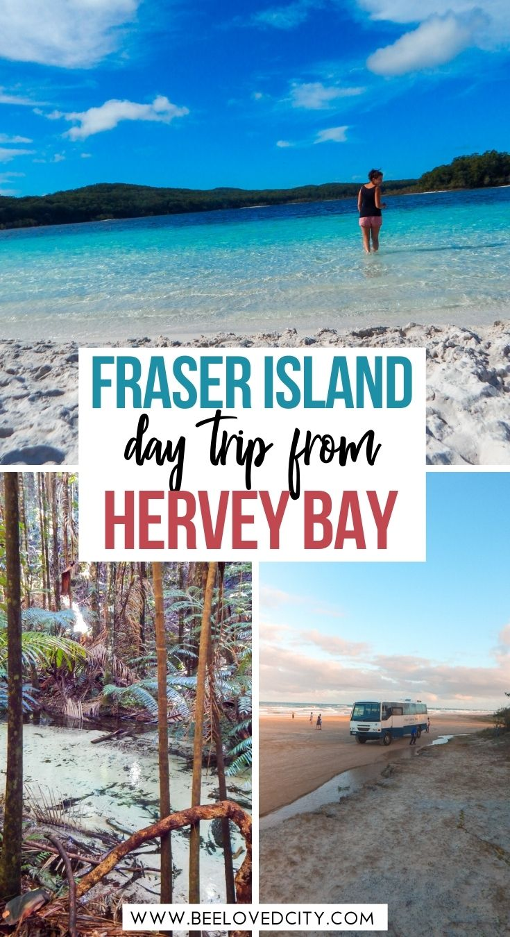 Day trip from Hervey Bay to Fraser Island