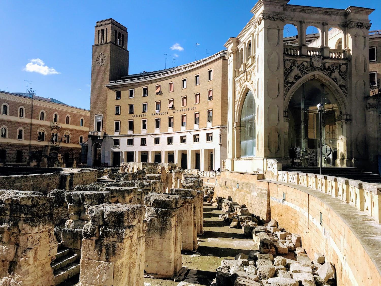 Lecce in winter