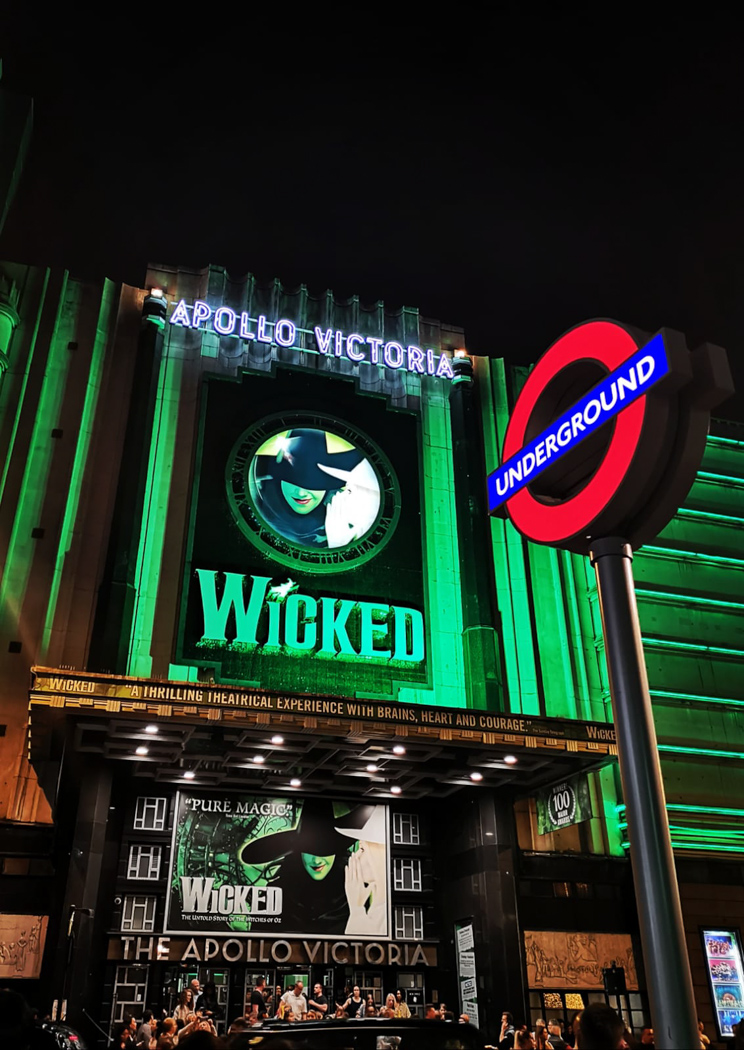 wicked musical in london
