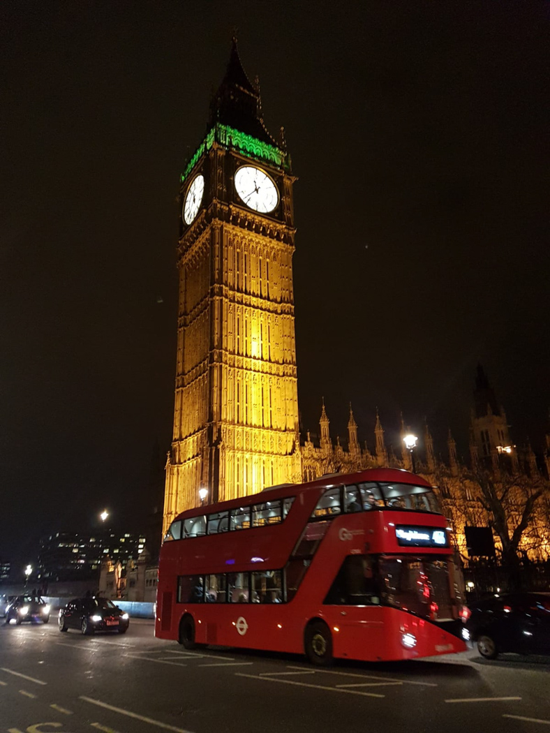 big ben and bus in london