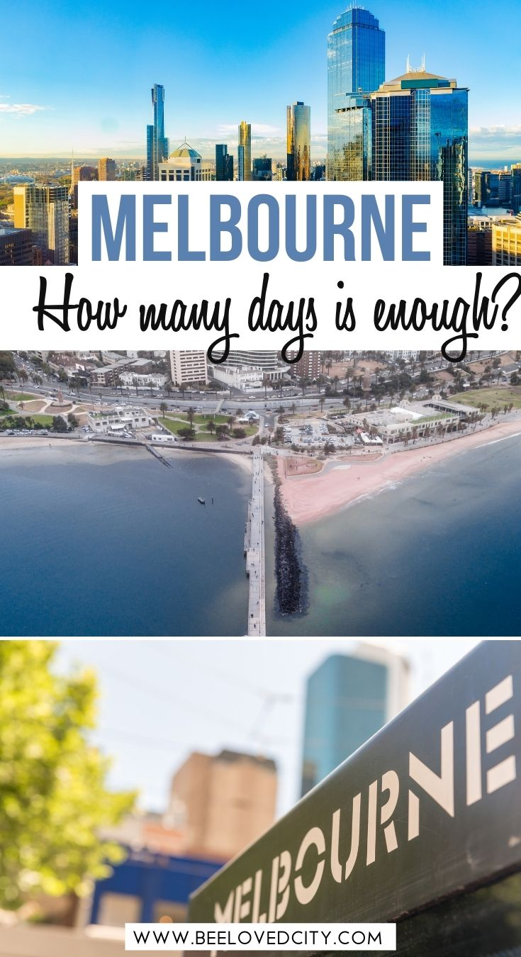 how many days do you need in melbourne