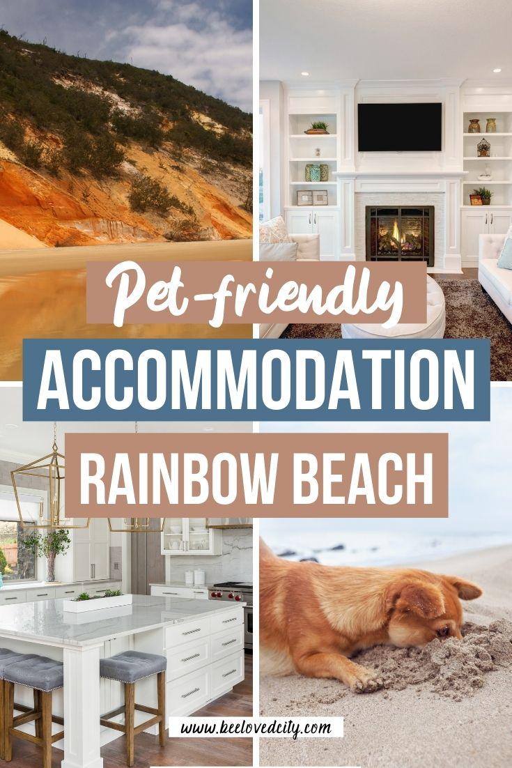 Pet friendly accommodation rainbow beach