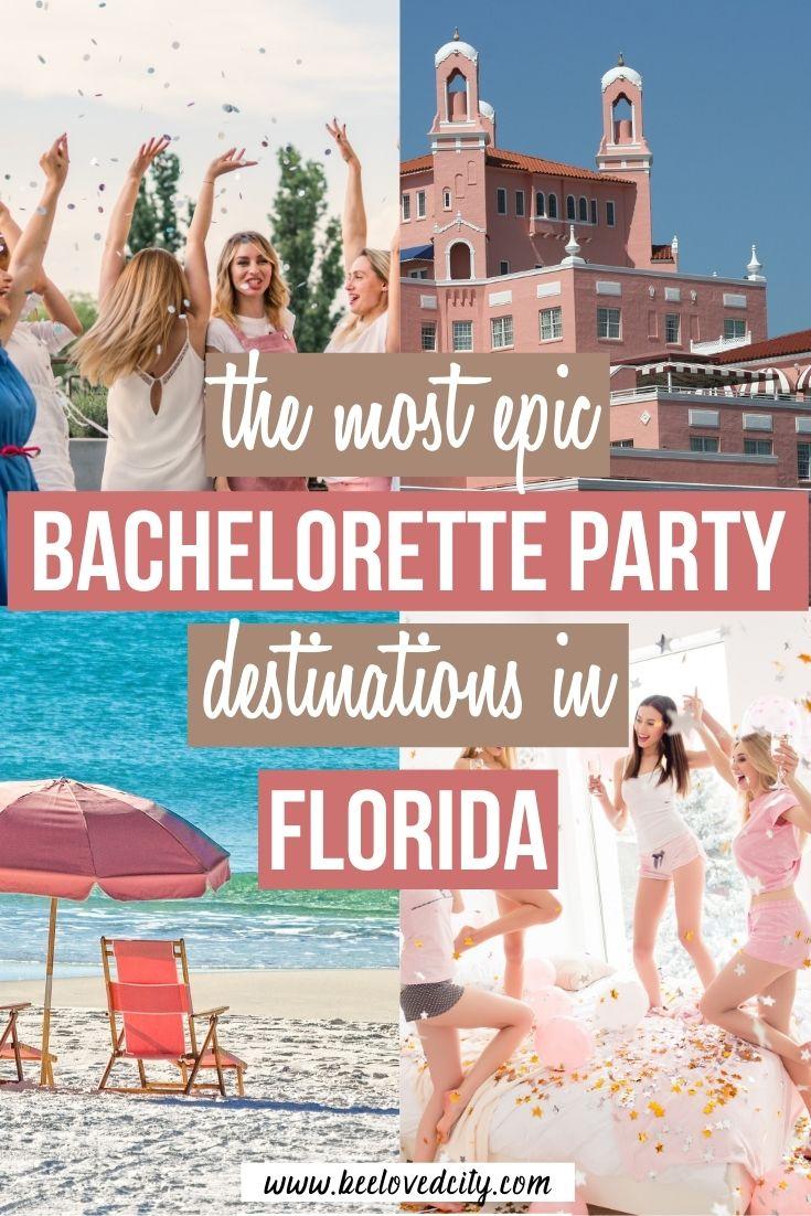 Best bachelorette party destinations in florida