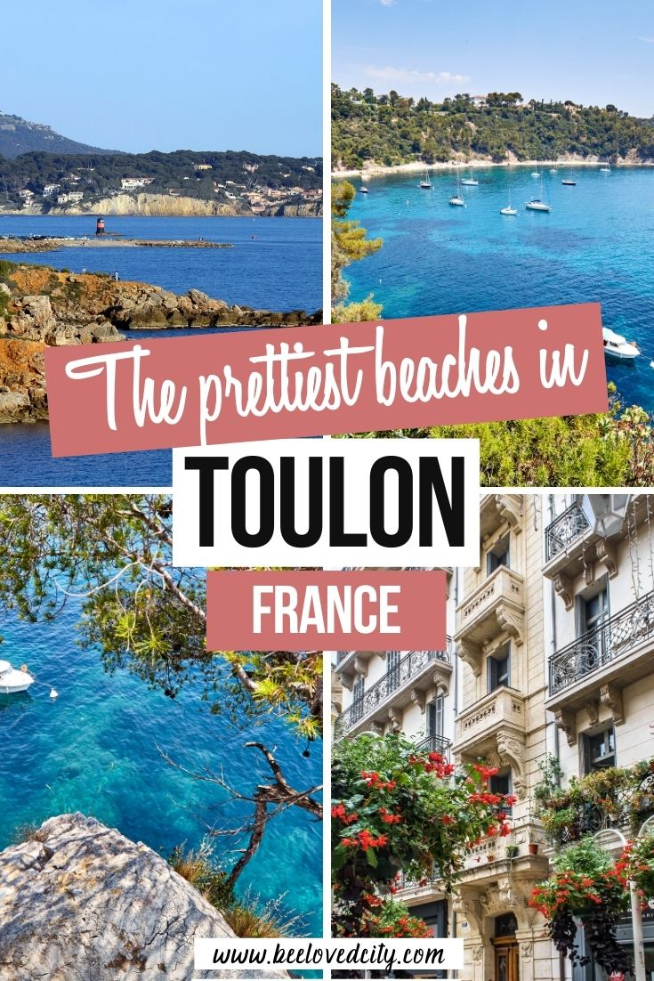 Best beaches in Toulon, south of France