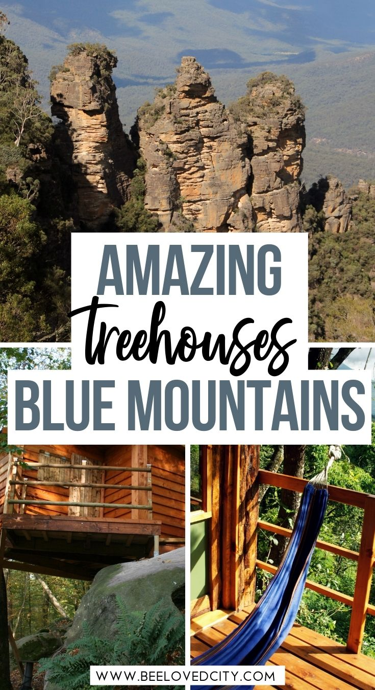 amazing blue mountains treehouses Australia