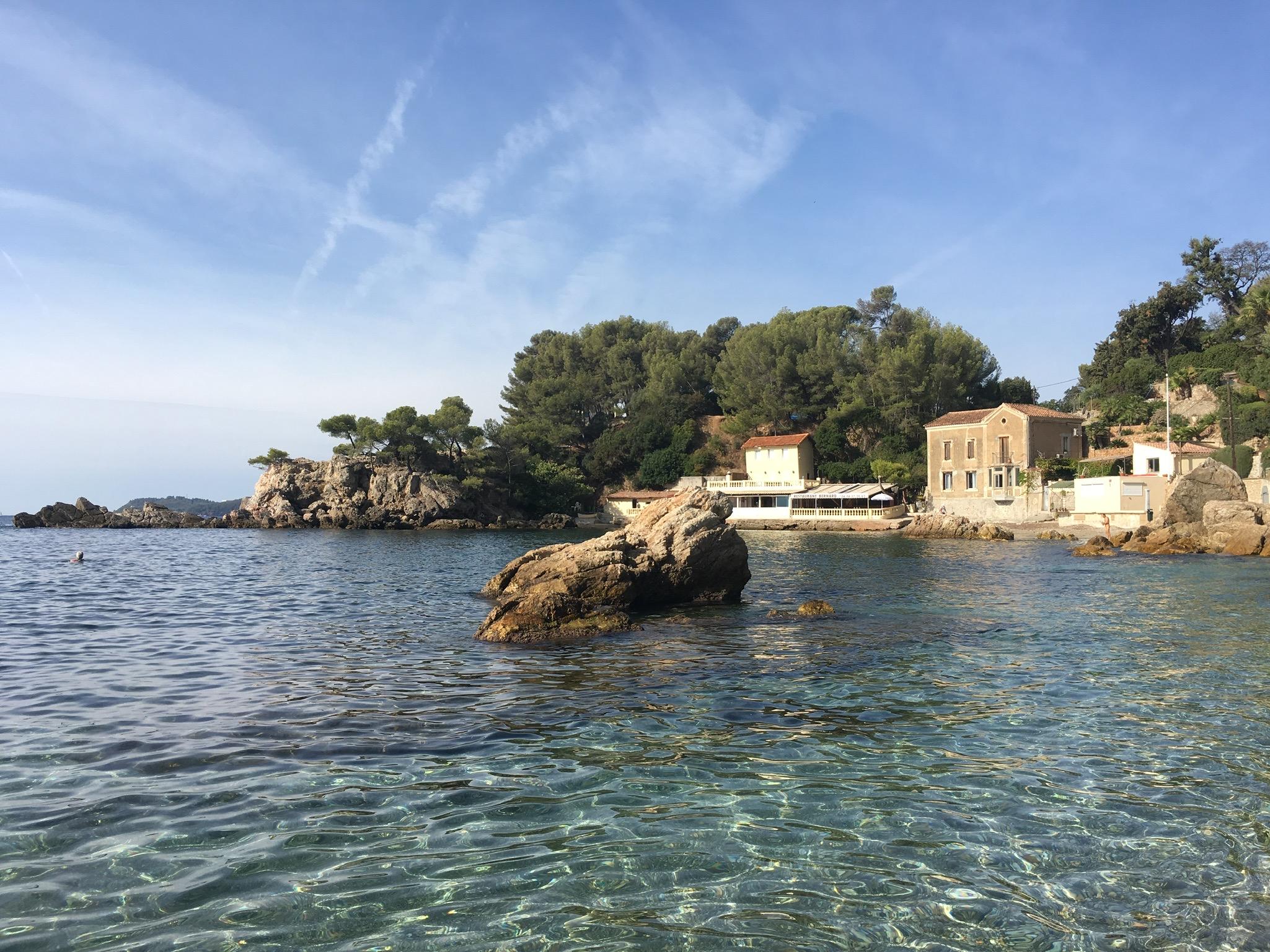 Anse de Magaud Beach in Toulon