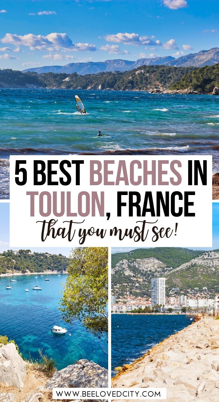 Best beaches in Toulon France