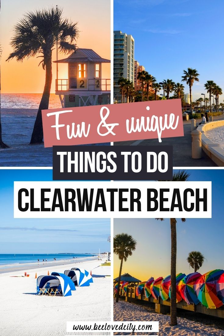 Unique Things to do in Clearwater Beach Florida