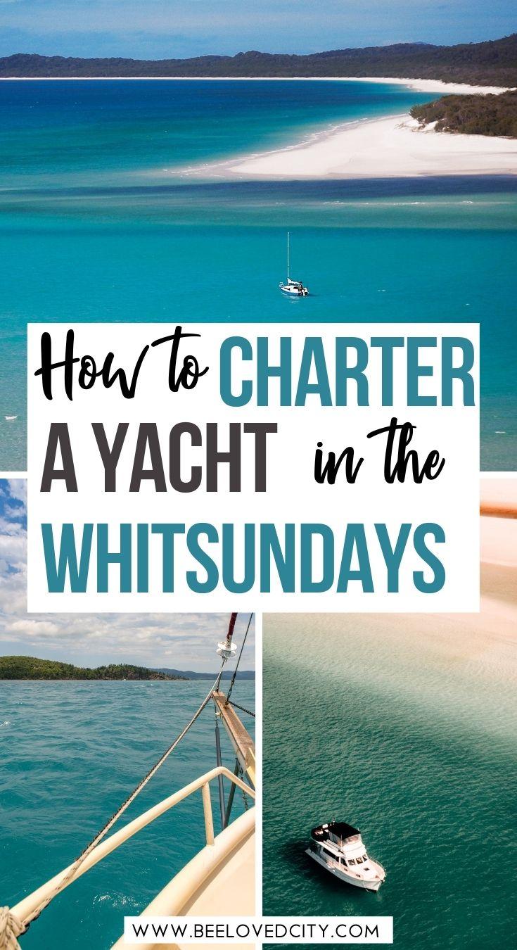Boat charter Whitsundays