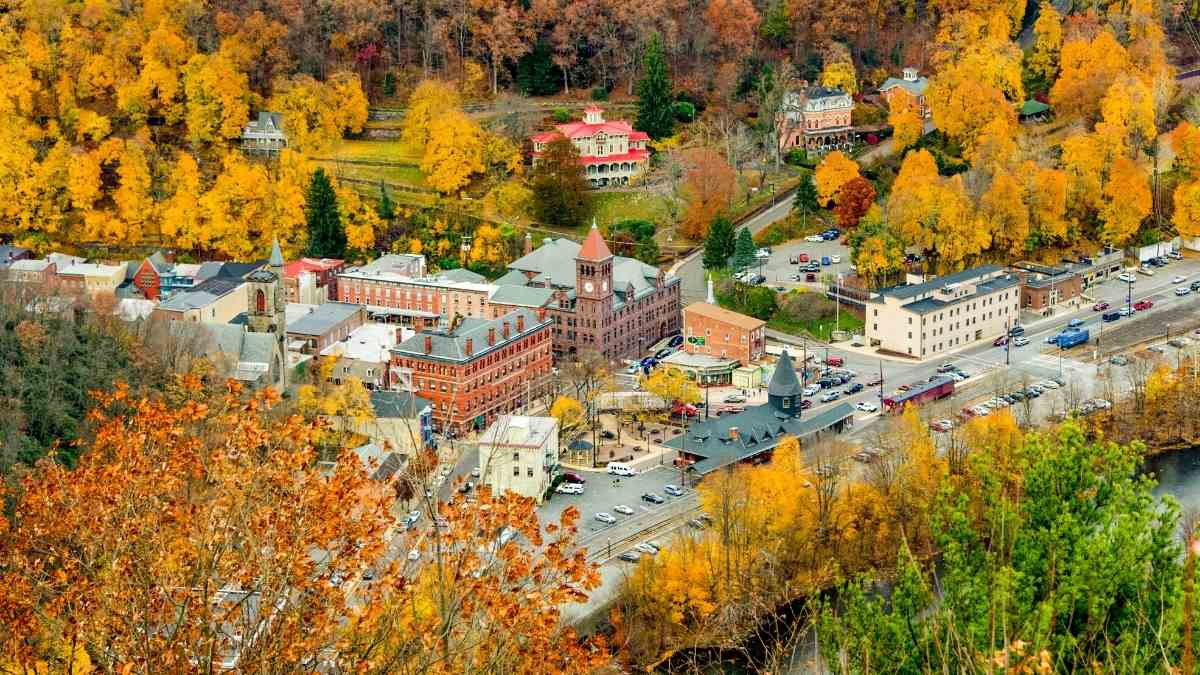 Poconos small town in america