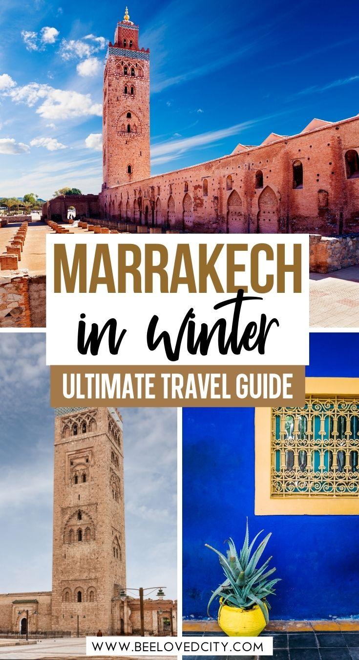 marrakech in december travel guide
