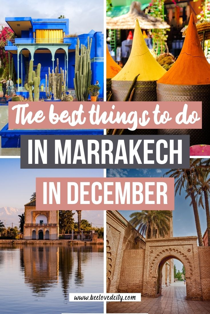 Things to do in Marrakech in december