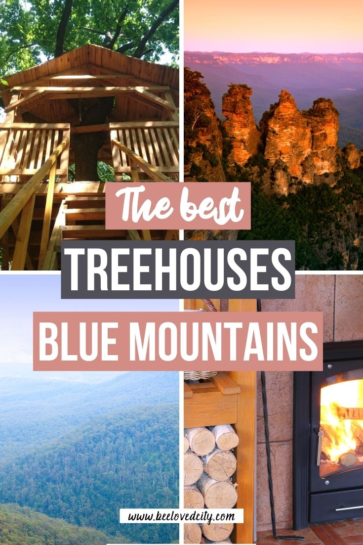 best treehouse in blue mountains NSW