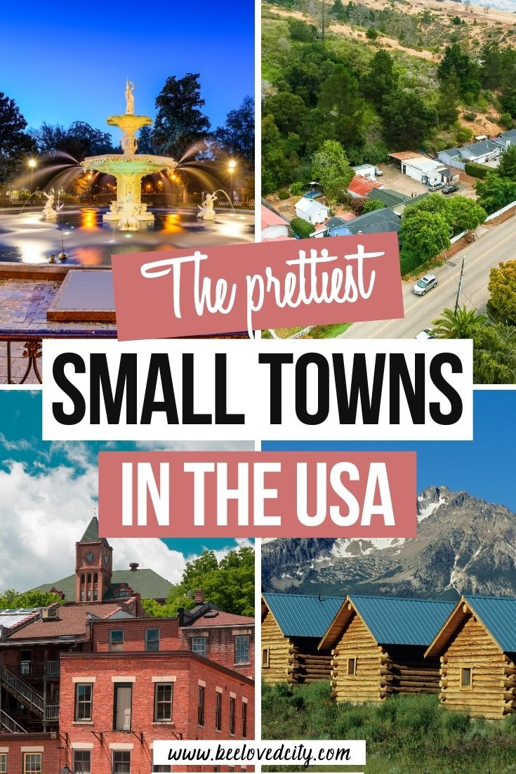 Most Beautiful American Small Towns to visit
