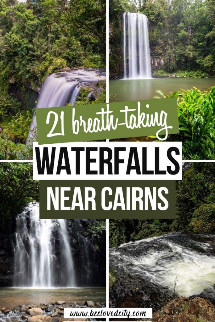 Stunning waterfalls near Cairns Australia