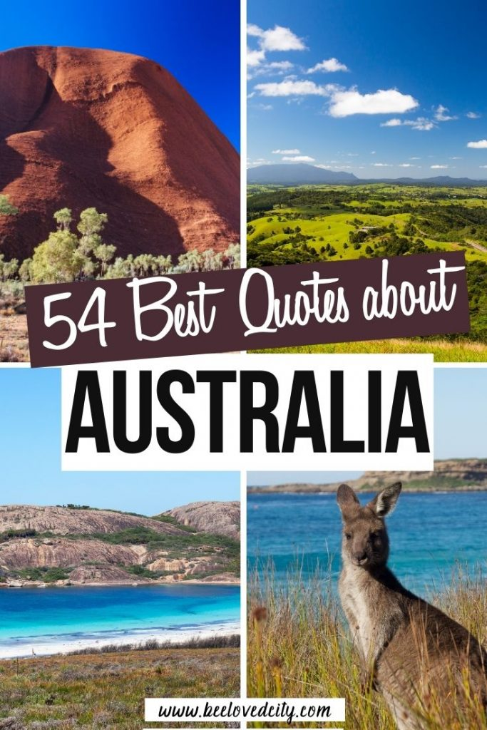 Best Quotes about Australia