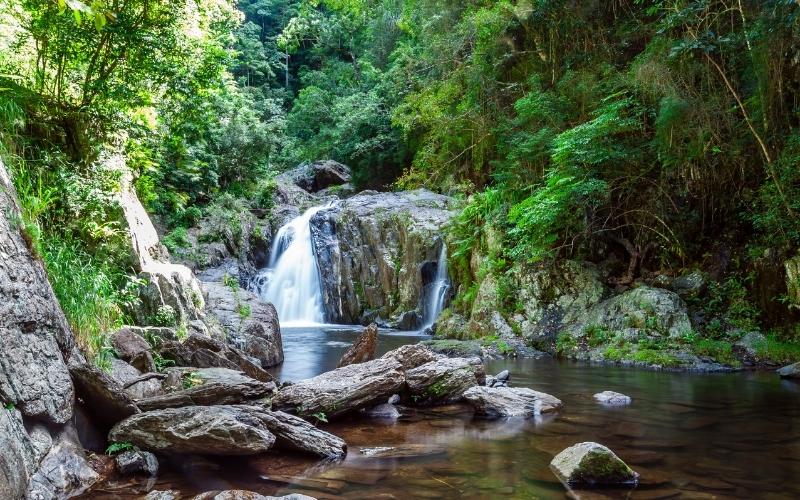 Crystal Cascades near Cairns, QLD