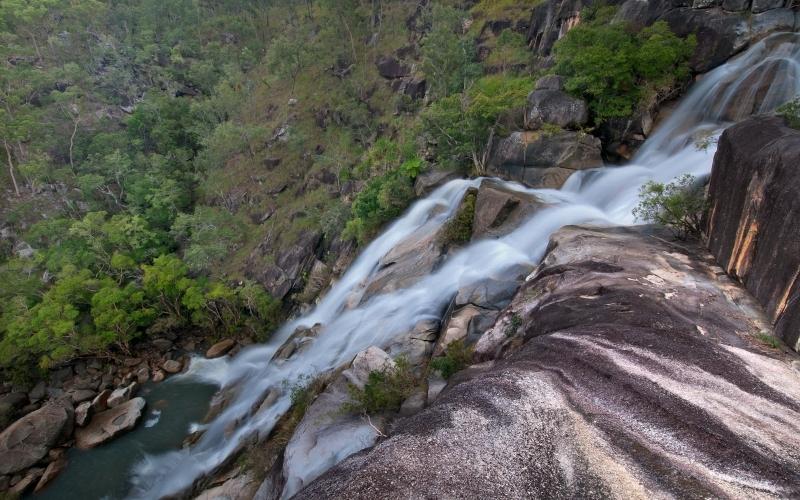 Travel to Davies Creek Falls