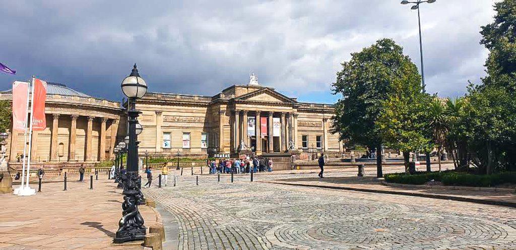 Art gallery in Liverpool