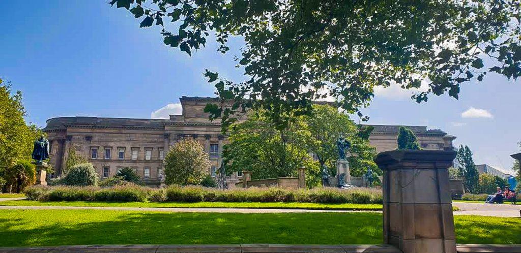 Gardens in Liverpool