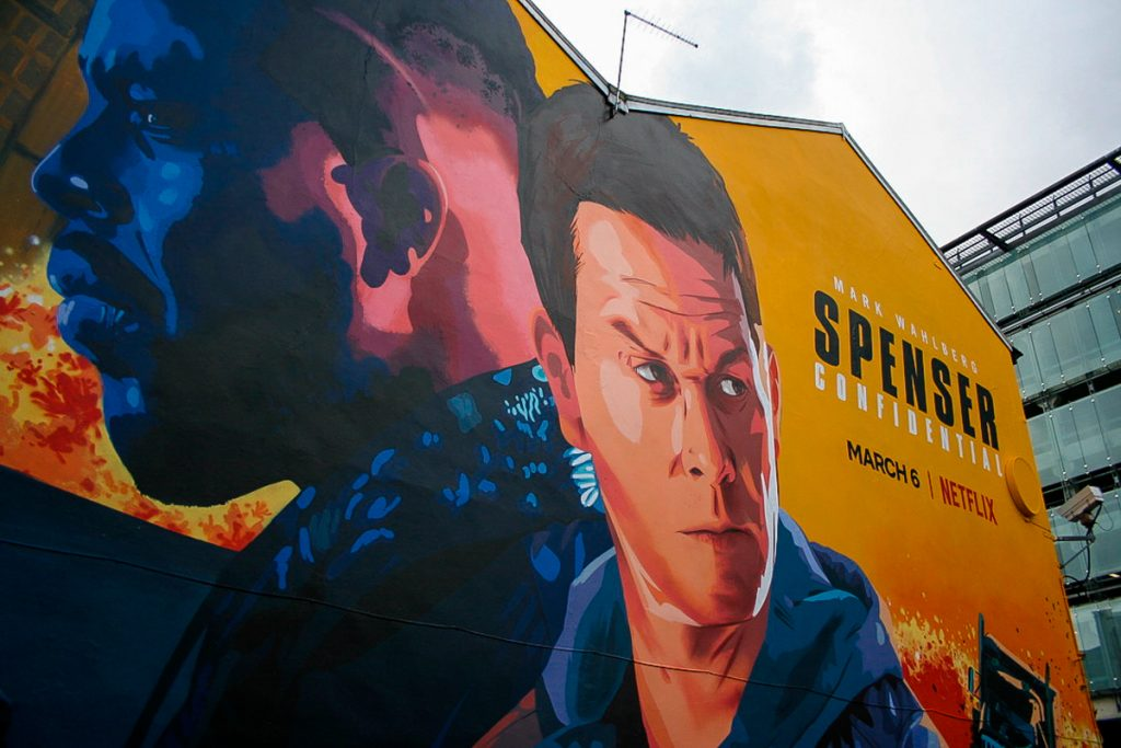 Mural near Shudehill in Manchester