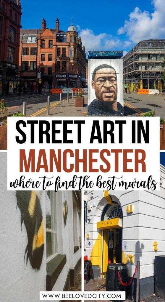 Best street art in Manchester