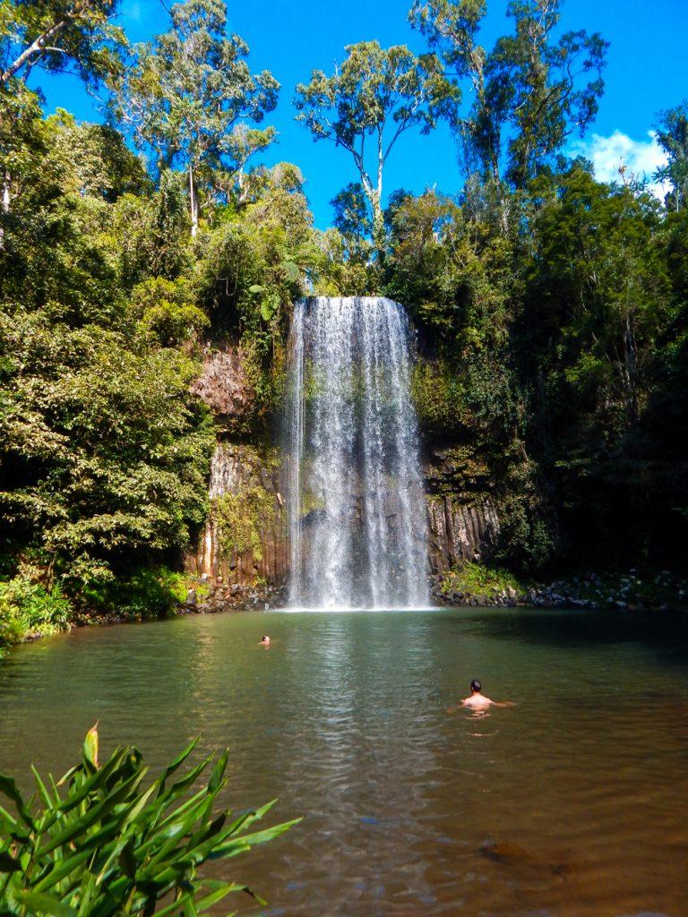 Get to Millaa Millaa Falls in Queensland