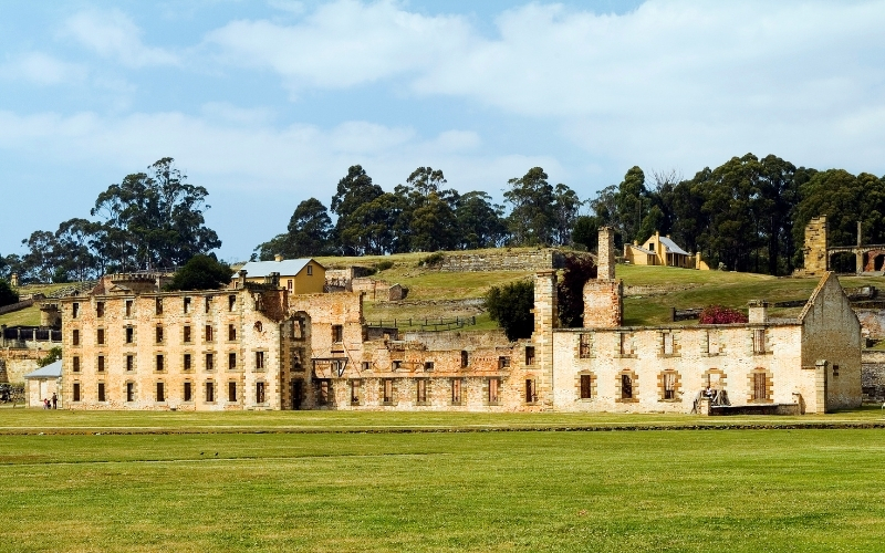 Visiting Port Arthur in Tasmania