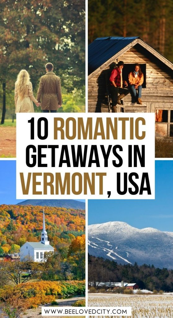 the most romantic getaways in Vermont with hot tub
