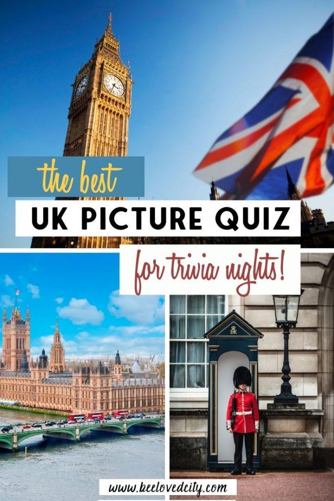 The Best UK Picture Quiz