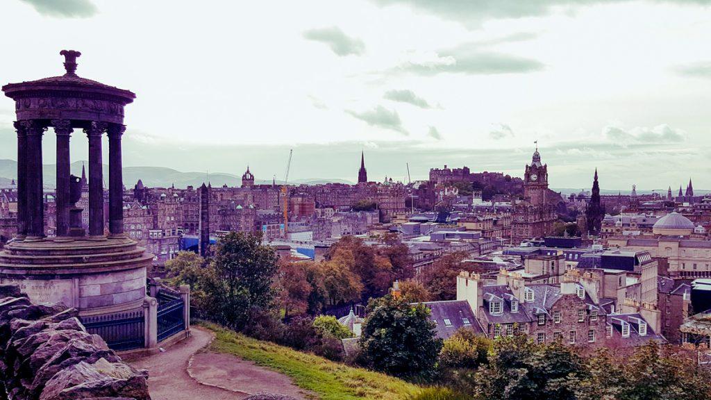 View point of Edinburgh