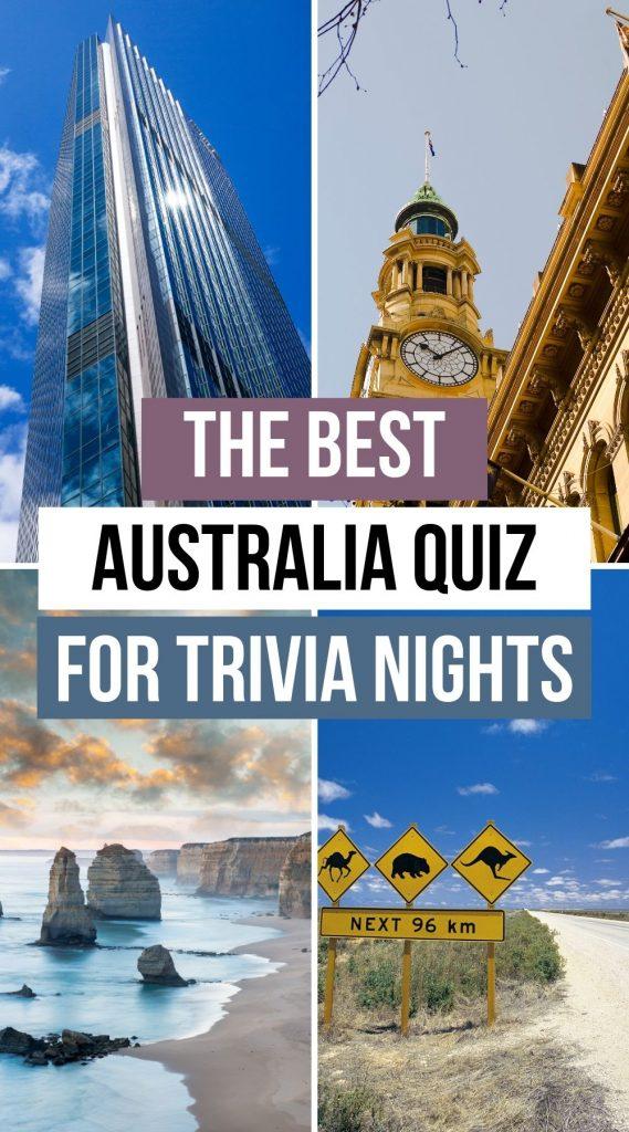 The best Australia Quiz Trivia