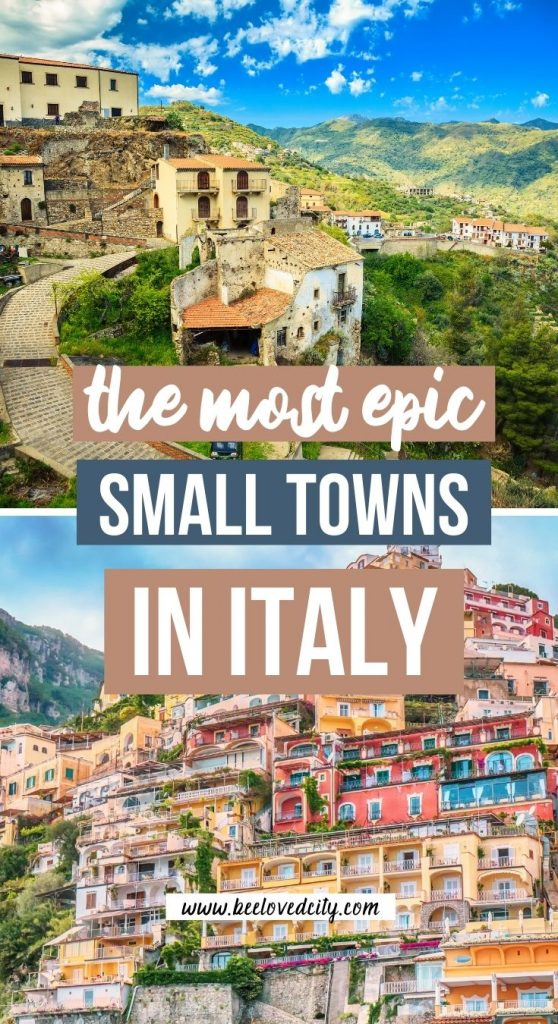 Prettiest small towns in Italy to visit