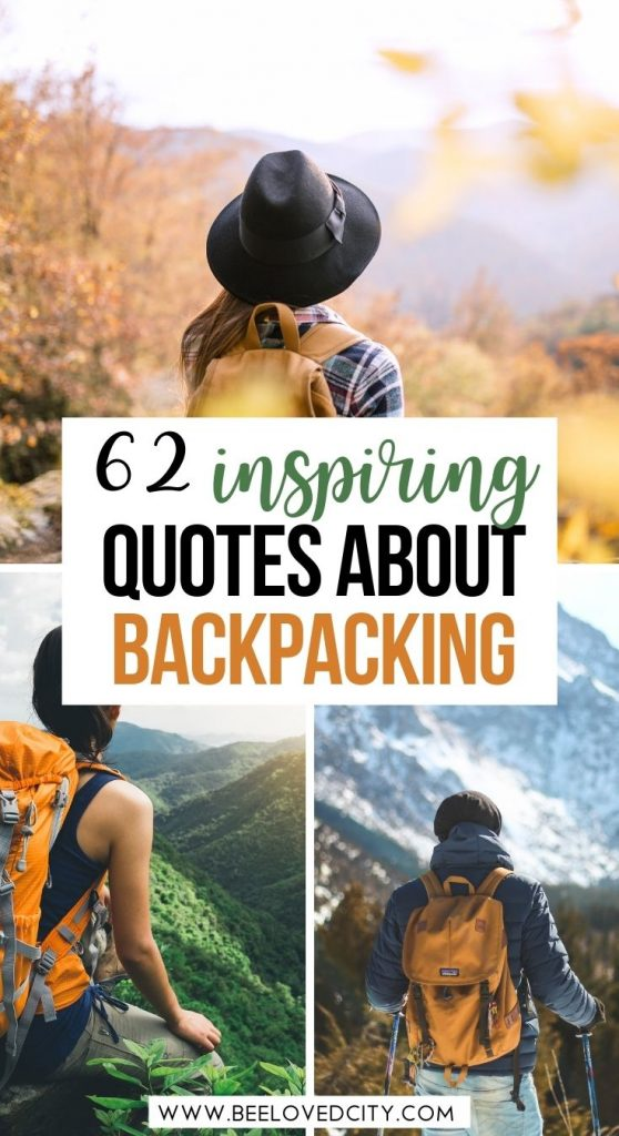Best backpacking quotes for travellers