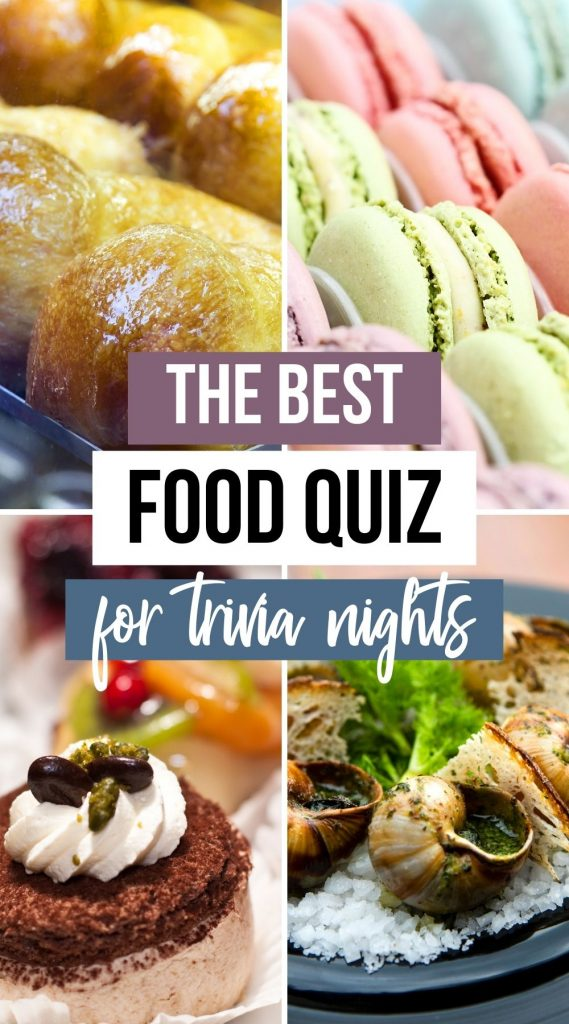 The ultimate food trivia quiz
