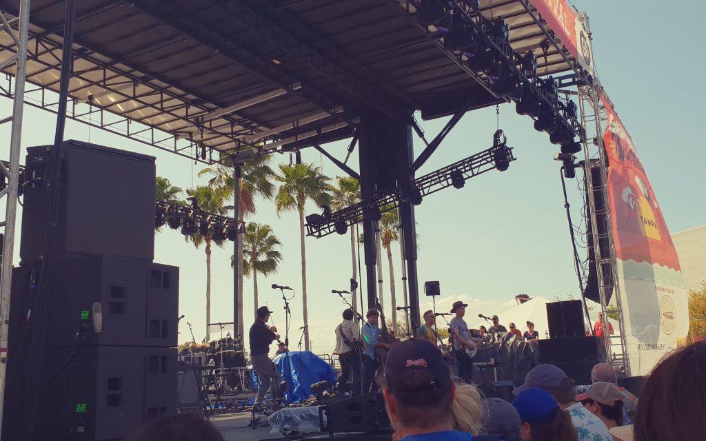 Gasparilla Music Festival in Tampa Florida