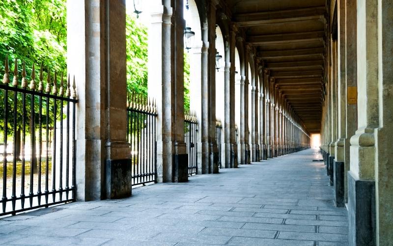 Jardin du Palais Royal in Paris