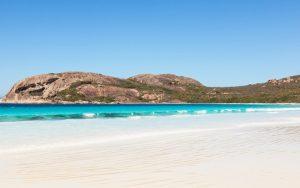 Lucky Bay in Western Australia