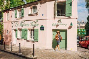 La Maison Rose Cafe in paris