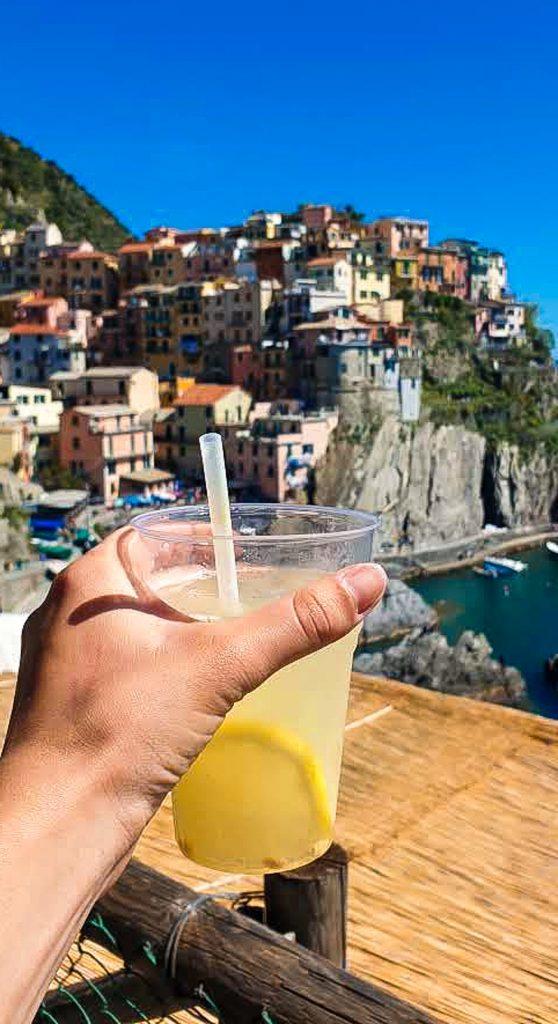 Lemonade in Manarola Cinque Terre Italy