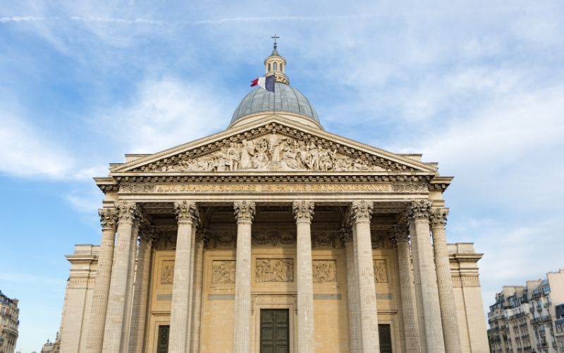 Pantheon in Paris France