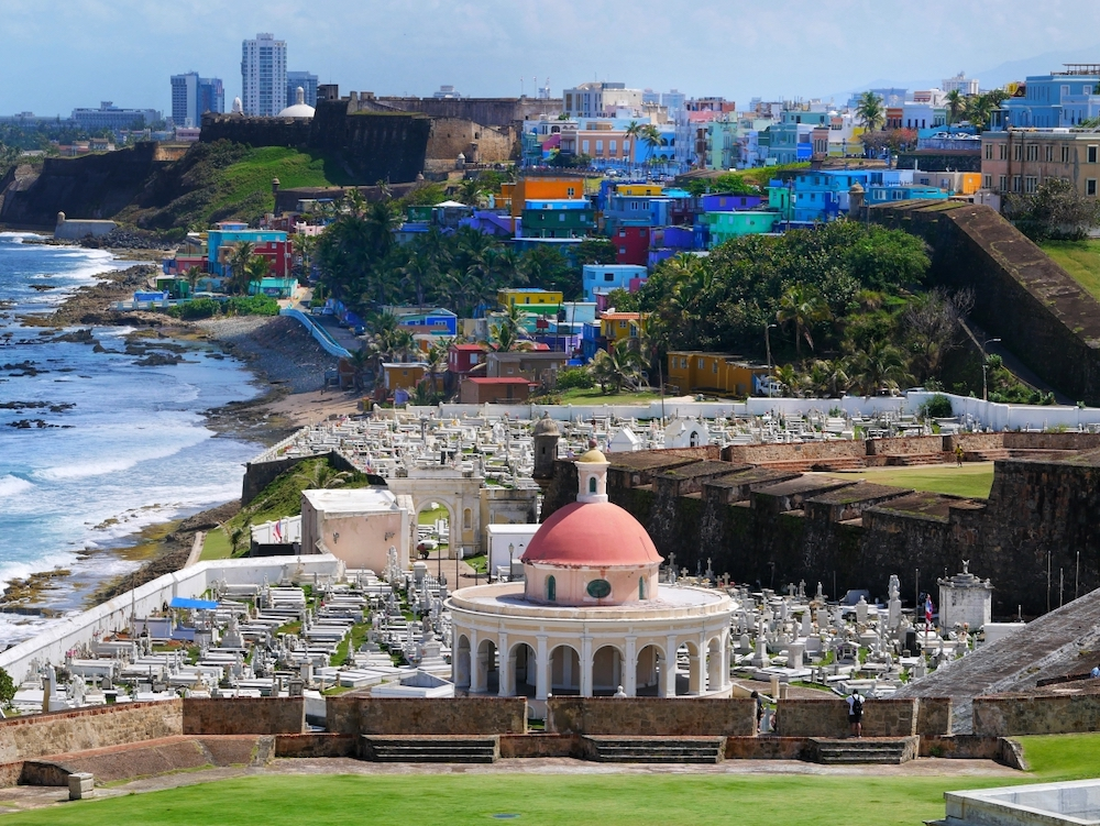 Spring Break in San Juan Puerto Rico