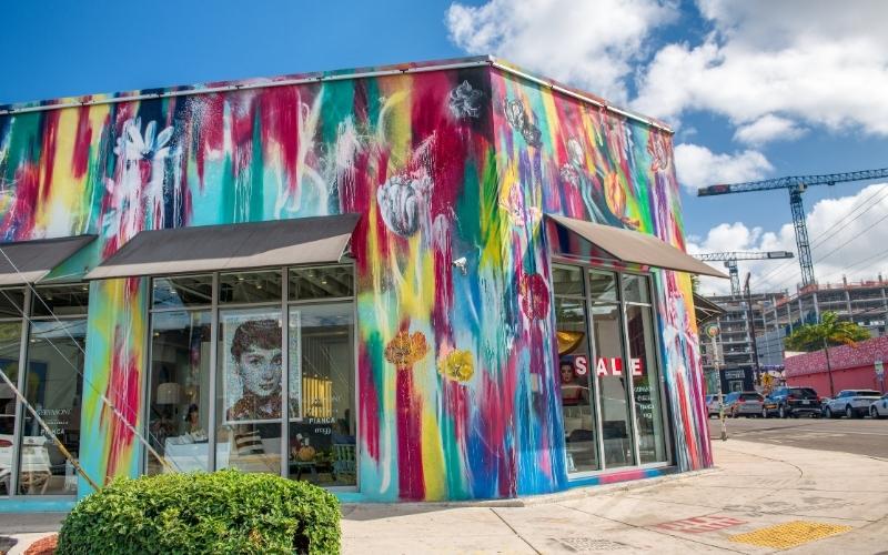 Cool shops in Wynwood Miami