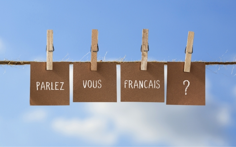 Speaking french