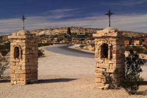 Ghost Town of Terlingua in Texas