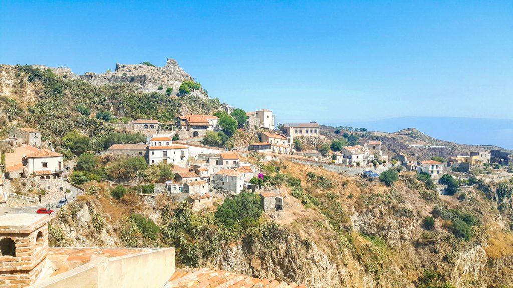 Beautiful town in Sicily Savoca